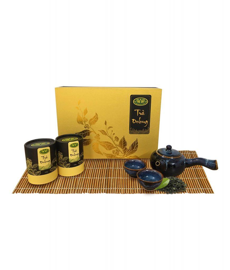 Set trà oolong quà tặng