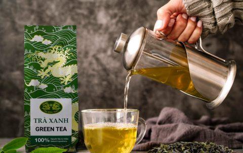 Cách nấu trà xanh ngon chuẩn vị